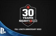 Naughty Dog Full Length 30th Anniversary Video