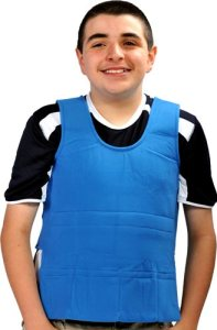 WeightedVest main 197x300 Sensory Hugs Deep Pressure and Weighted Vest to aid children with autism