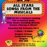 Autism All Stars Foundation UK Host 'Songs from the Musicals'