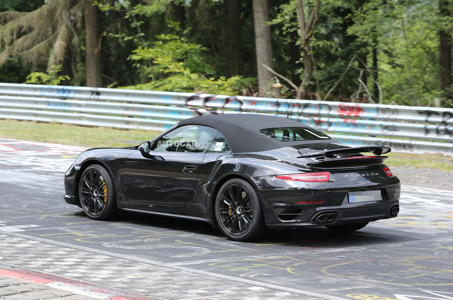 2014 Porsche 911 Turbo S Cabriolet Spotted Undisguised Guawa