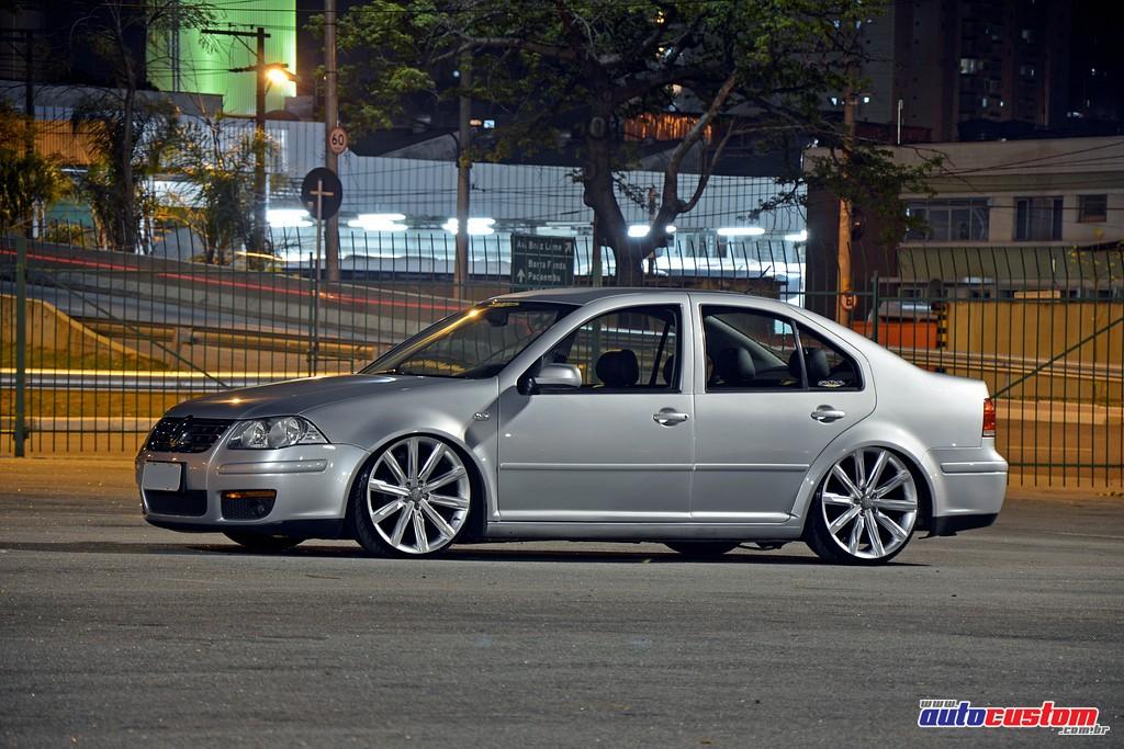 Bora Comfortline 2008 Com Rodas Audi Q7 Rebaixado E Xenon