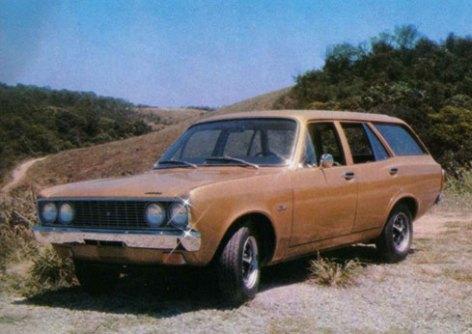 O exemplar que foi exposto no Salão do Automóvel em 1974