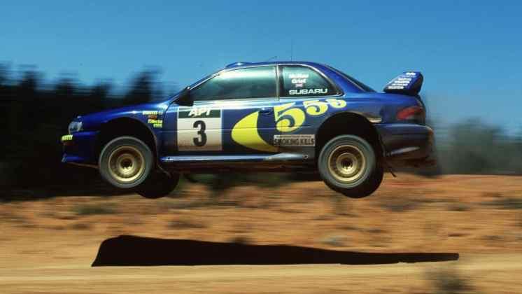 Subaru Impreza e Colin McRae 01