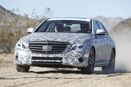 Neue Mercedes E-Klasse - Erlkönig