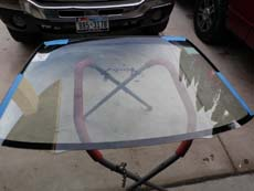 Compare Washington Dc Windshield Replacement   Auto Glass Prices     Installing Windshield in Washington DC CA  step 3  Setting New  Windshield