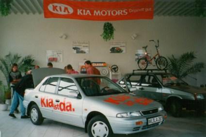 1993 KIA ist da.