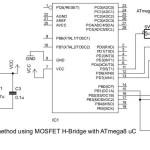 Control PWM para motor usando ATmega8