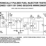 Probador electrónico de inyectores de combustible