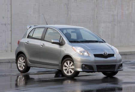 2009 Toyota Yaris 5-door Liftback S