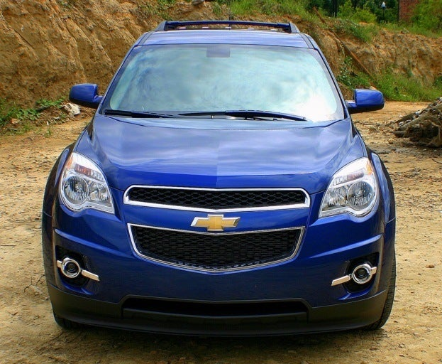 2010 Chevy Equinox front