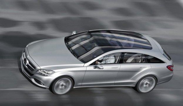 Mercedes-Benz Concept Shooting Break side