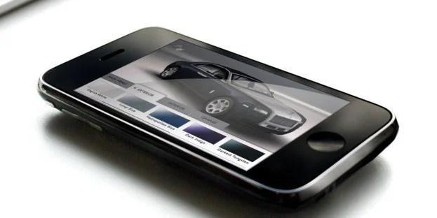 Rolls Royce Ghost iPhone App