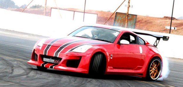 Nissan 350Z Drifting