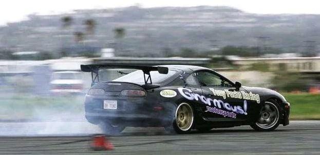 Toyota Supra Drifting