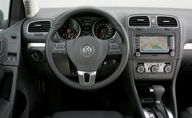 2010 VW Golf TDI interior