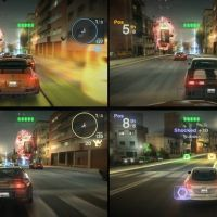 Blur screenshot - 4 player split screen