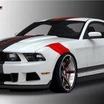Specialty Mustang by Raceskinz