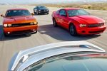2011 Chevy Camaro, Ford Mustang, Dodge Challenger