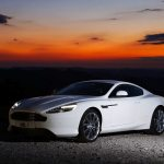 AstonMartinVirageFrontViewWhite