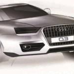 Audi Q3 sketch