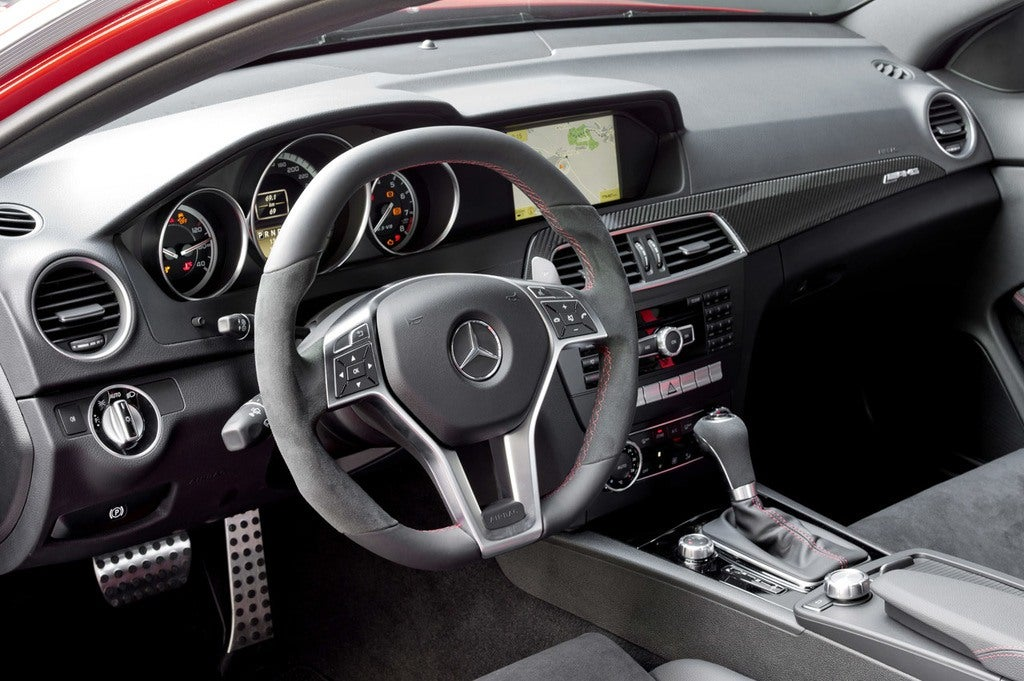 2012 C63 AMG Coupe Black Series