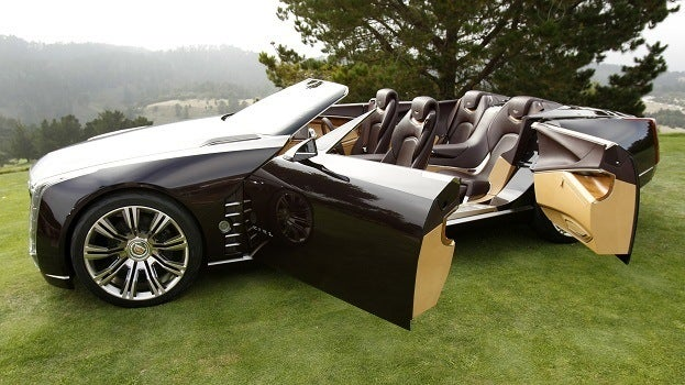 Cadillac Unveils Ciel Concept Vehicle At Pebble Beach