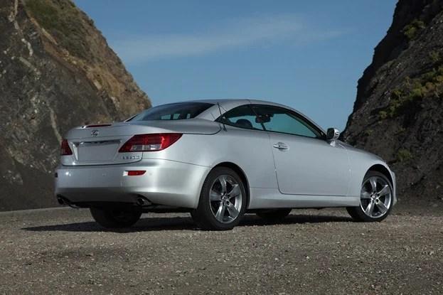 2012 Lexus IS-C rear