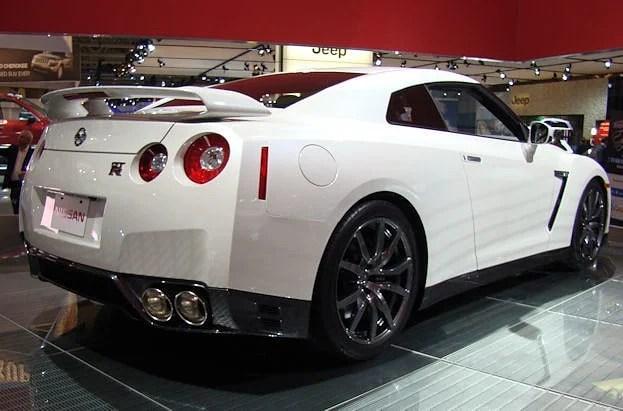 2012 Canadian International Auto Show Nissan GTR chris nagy