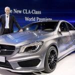 2014 Mercedes CLA at Detroit Auto