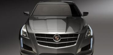 2014 Cadillac CTS front