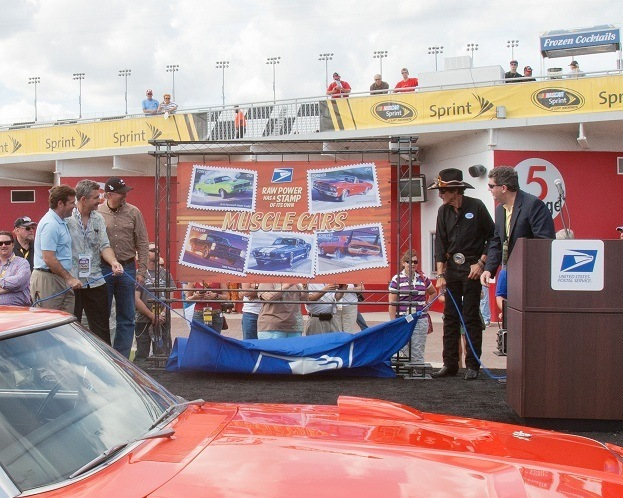 Richard petty muscle car stamps