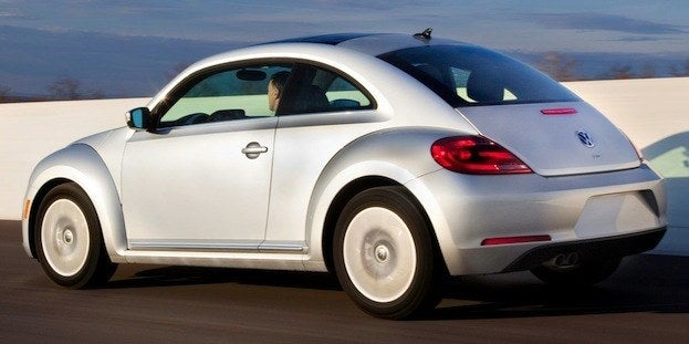 2013 Volkswagen Beetle TDI rear