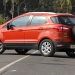 2013 Ford EcoSport rear