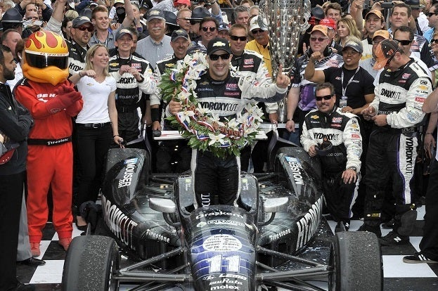 Chevy Kanaan Indy 500 Winner