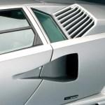 Lamborghini Countach rear vent
