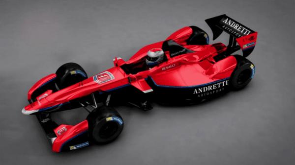 Andretti Autosport Formula-E Dallara