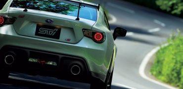 Subaru BRZ tS rear