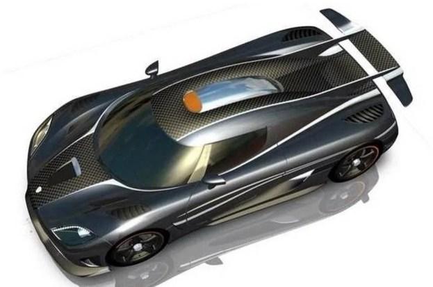 Koenigsegg One 1 top