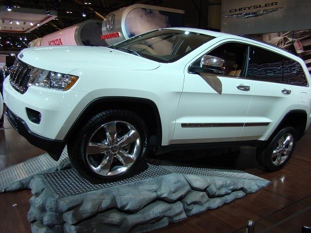 Jeep Grand Cherokee 2012 Canadian International Auto Show