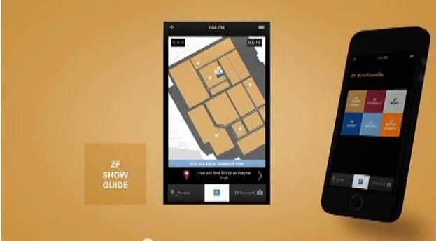 ZF AutoShowMe App Map