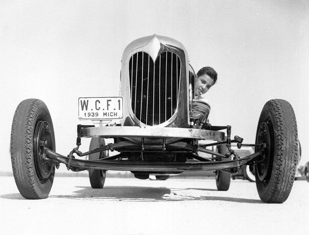 William-Clay-Ford-on-Dearborn-Test-Track-at-age-of-14