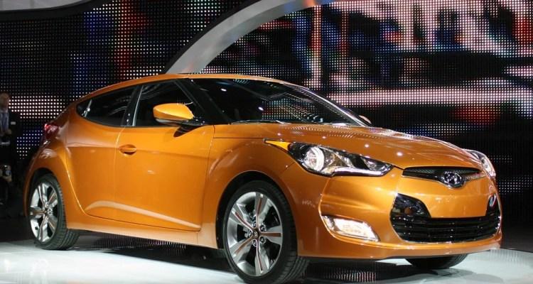 Hyundai Veloster orange