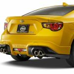Scion FR-S RS 1 rear bumber