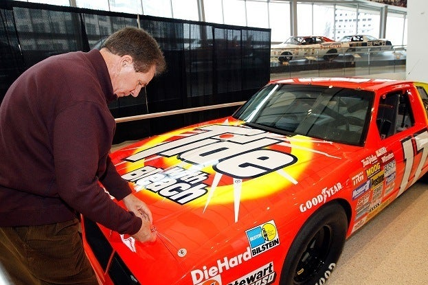 NASCAR Hall of Fame Inductee Exhibit Unveiling