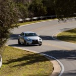 2014 Lexus IS350 F-Sport twisting road