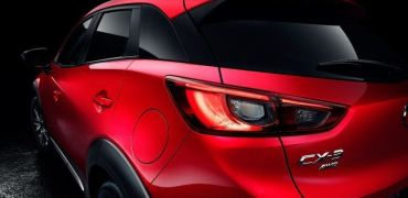 2016 Mazda CX-3 Left Taillight