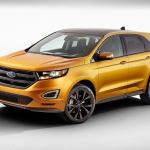 2016 Ford Edge Sport Left Front Three Quarters