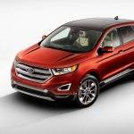 2016 Ford Edge Titanium Left Front Three Quarters