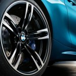 2016 BMW M2 265/35ZR-19 Rear Rim and Tires