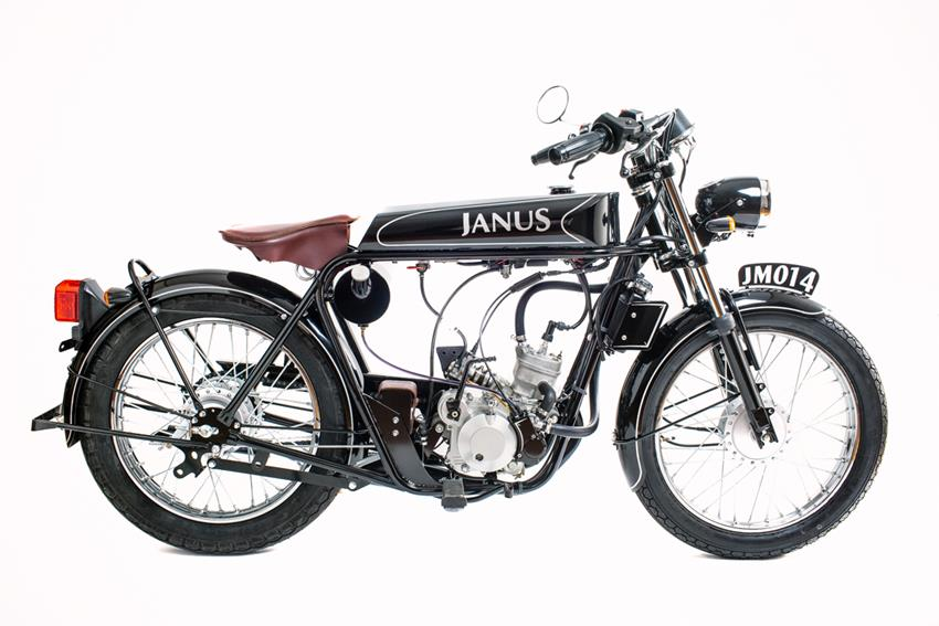 The Halcyon 50 by Janus Motorcycles